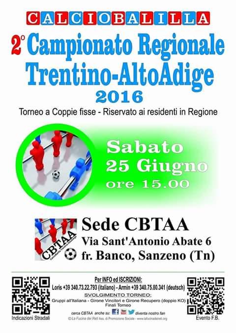 Campionato Trentino 2016