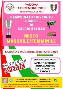 Campionato Triveneto Misto 2018